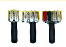 Soft touch pneumatic handles
