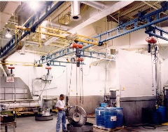2000lb Steel with CM Chain Hoist