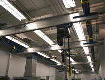 Aluminum Ceiling Hung System with Multiple Bridges