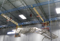 Ceiling Mounted Work Station Crane lifting Automotive Body