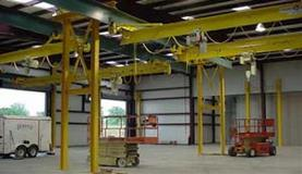 Cleveland Tramrail Underhung System with Interlocks