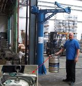 Easy Arm Intelligent Assist Device in Brewery