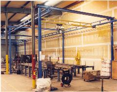 2000lb Steel FSWSC with Coffing Hoist