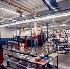 Grúa para estación de trabajo autónoma de acero de 1000lb