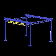 WSC-FS (Grúa para estación de trabajo autónoma)