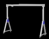 Grúa pórtico de aluminio ligero