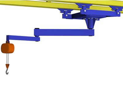Ceiling Mounted Articulating Jibs