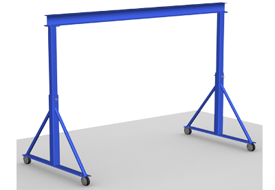 Adjustable Height Gantry Crane