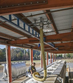Fall Protection custom application for rail road maintenance