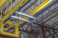 Tether Track Ceiling Mounted System