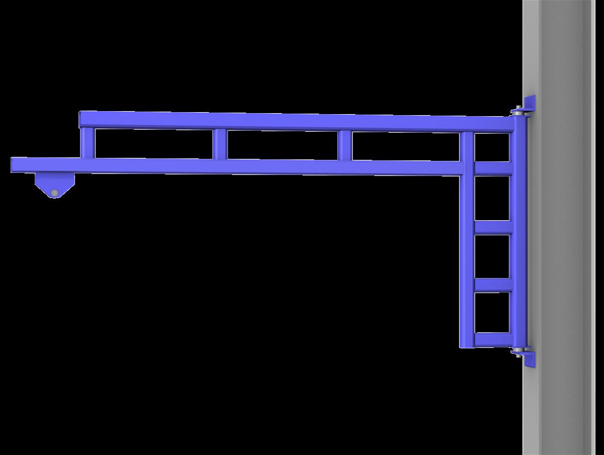 Wall Mounted Work Station Jib Cranes Gorbel