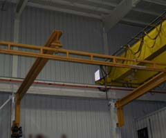 Fold away fall arrest system