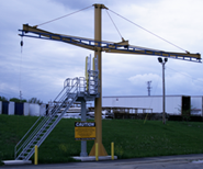 Tether Track Fall Protection System